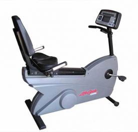 Life Fitness Life Cycle Recumbent 9500RHR on sale $985